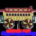 """B&O Passenger 34"""" : Train Spinner (25933)"""