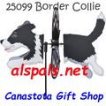 25099 Dog (BORDER COLLIE ) : Petite & Whirly Wing Spinner (25099)