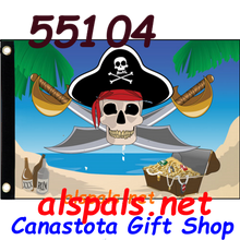 55104 Treasure Hunt Seafarer Flag (55104)