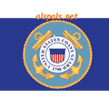 Coast Guard  Seafarer Flag