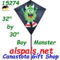 "15274  Boy Monster: Diamond 30"" Kites by Premier (15274)"