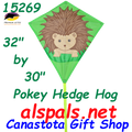 "15269 Pokey Hedgehog: Diamond 30"" Kites by Premier (15269)"