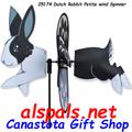 "25174 Dutch Rabbit 19.5"": Petite Wind Spinner (25174)"