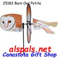 """25182 Barn Owl 19.5"""": Petite Wind Spinner (25182)"""