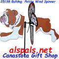 "25198 BullDog 19.5"": Petite Wind Spinner (25198)"