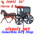"26842  Horse & Buggy 26"": Vehicle Spinners (26842)"