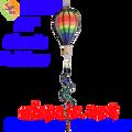 25889  Classic Rainbow : 12 in Hot Air Balloon (25889)