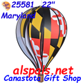 "25581 Maryland 22"" Hot Air Balloons (25581)"