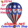 "25744 Patriotic Vintage 22"" Hot Air Balloons (25744)"