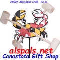 "24007  Maryland Crab 12"" , Whirligig (24007)"