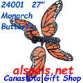 """24001 Monarch Butterfly 27""""    Whirligig (24001)"""