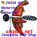 """24034 Butterfly Monarch 40""""   Bug Spinners (24034)"""