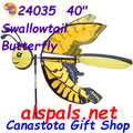 """24035 Butterfly SwallowTail 40""""   Bug Spinners (24035)"""