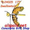 """24025  Butterfly SwallowTail 17""""    Bug Spinners (24025)"""