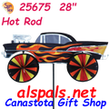 """25675  Hot Rod 28"""": Vehicle Spinners (25675)"""