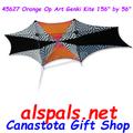 45627 Orange-Op Art Genki: Collection Kite (45627)