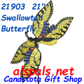 """21903 SwallowTail Butterfly 21""""    Whirligig (21903)"""