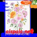 57136 Summer Bouquet : PremierSoft House Flag (57136)