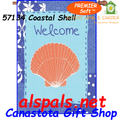 57134 Coastal Shell : PremierSoft House Flag (57134)