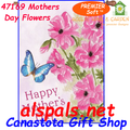 57169 Mother's Day Bouquet : PremierSoft House Flag (57169)