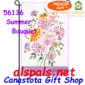 56136 Summer Bouquet : PremierSoft Garden Flag (56136)
