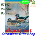 57147Woodie Bobber (Ducks) : Illuminated House Flag (57147)