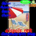 Patriotic Beach Chairs :  PremierSoft Garden Flag