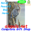 Peaceful Blue Heron :Garden Flag by Premier Illuminated