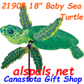 "21905 Baby Sea Turtle 18"" , Whirligig (21905)"