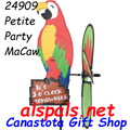 24909 Party MaCaw : Petite Wind Spinner (24909)