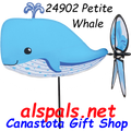 24902 Whale : Petite Wind Spinner (24902)