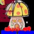 22383 Sunshine: Magical Mushroom Wind Spinners (22383)