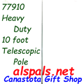 Pole 10 ft Heavy Duty   : Banner or Windsock Poles & Mounts (77910)   Ground mount not included.