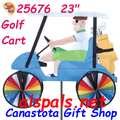 """25676  Golf Cart 23"""" : Vehicle Spinners (25676)"""