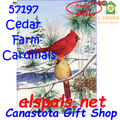 Cedar Farn Cardinals : Premier SoftTM House Flag (57197)