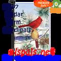 56197  Cedar Farm Cardinal : PremierSoft Garden Flag (56197)