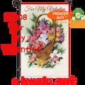 56208  For My Valentine : PremierSoft Garden Flag (56208)