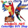 "25674  33"" Island Parrot : Party Animals (25674)"