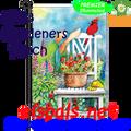 56183   Gardeners Patch : Garden Flag by Premier Illuminated (56183)