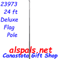 23973  24 ft. Deluxe Flag Pole (23973)