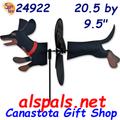 24922 Dog (Dachshund Black & Tan) (24922)