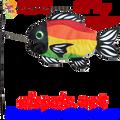 Rainbow (Stylized) : Swimming Fish (26515)