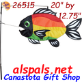 Rainbow (Stylized) : Swimming Fish (26515)