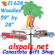 "Woodie 59"", Carousel Wind Spinners (21628)"
