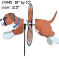 24945   Dog (Boxer } : Petite Spinner (24945)