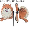 24941  Dog (Pomeranian} : Petite Spinner (24941)