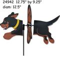24942   Dog (Rottweiler} : Petite Spinner (24942)