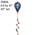 25806 Day of the Dead (Blue) : 12 in Hot Air Balloon (25806)