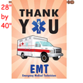 57326  Thank You EMT : PremierSoft(TM) House Flag (57326)