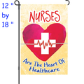 56322  Nurses : PremierSoft(TM) Garden Flag (56322)